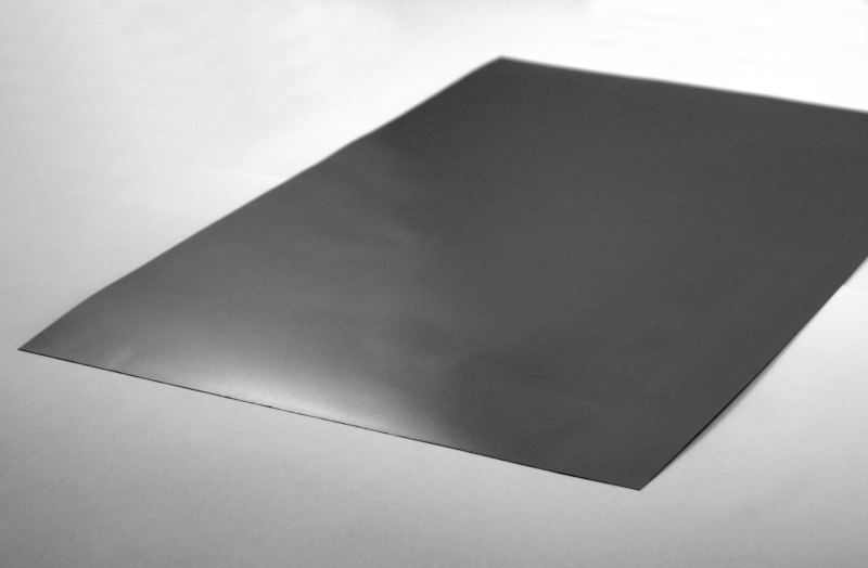 Graphite-Foil, Thickness: 0.2 mm;  DIN A3